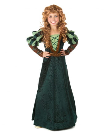 Forest Princess Girl Costume Dress