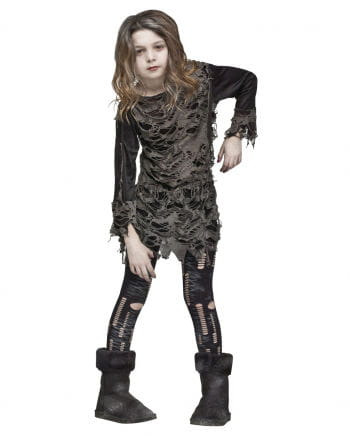 Walking Zombie costume for girls