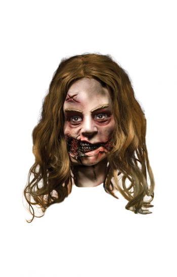 Walking Dead Zombie Mädchen Maske
