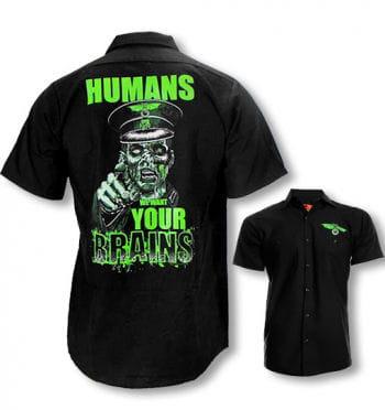 Zombie men`s shirt
