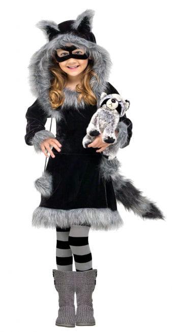 Raccoon Toddler Costume