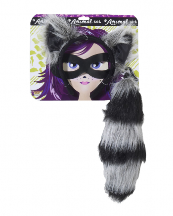Coon Costume Set