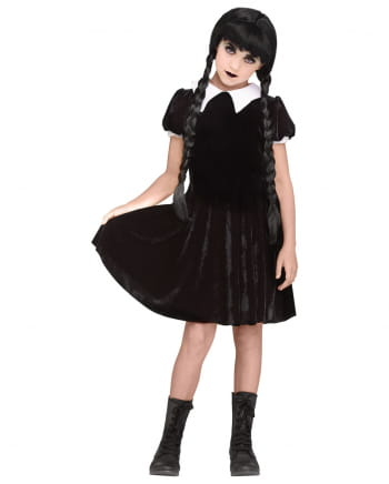 Wednesday Gothic Girl Costume