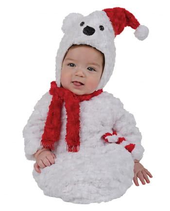Polarbär Plüsch Babykostüm