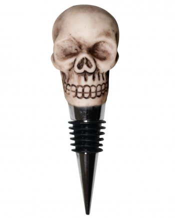 Wine Bottle Cap With Skull