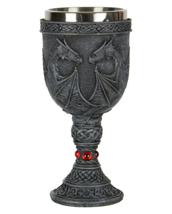 Wine Goblet With Dragon