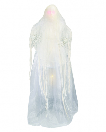 White Ghost Woman Standing Figure 157cm