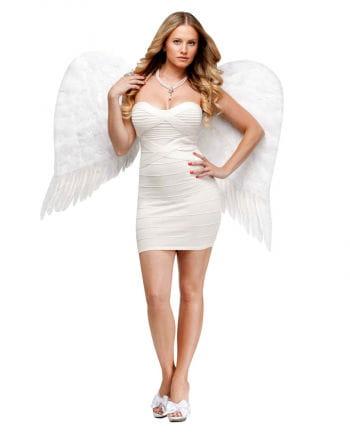 Weiße Engelsflügel groß