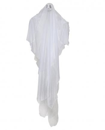 Weißer Geist Hängefigur für Halloween 18 cm