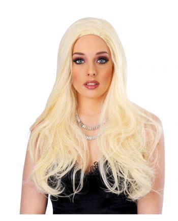 Wavy Long Hair Wig Blond