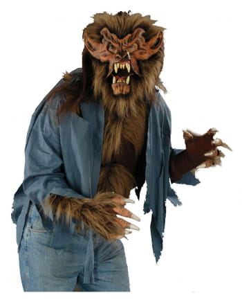 Werewolf Shirt Brown