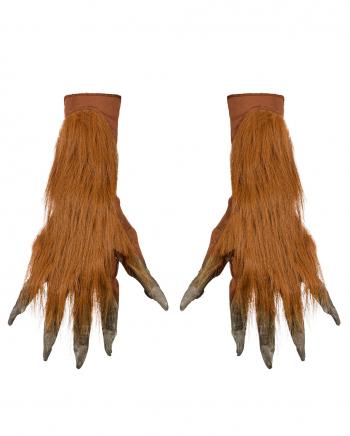 Werwolf Handschuhe Braun