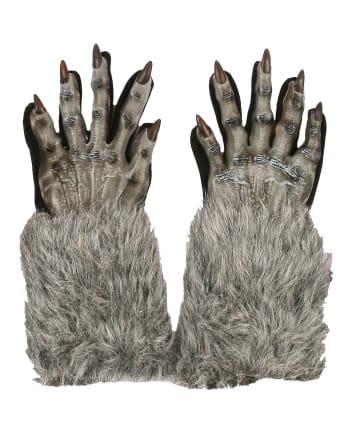 Werwolf Pranken grau