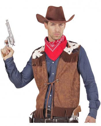Cowboy Vest Suede Look