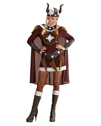 Wikinger Walküre Viktoria Kostüm 46-48
