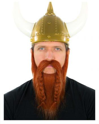 Wikinger Bart Rot