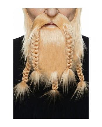 Barbaren Kombi Bart rotblond