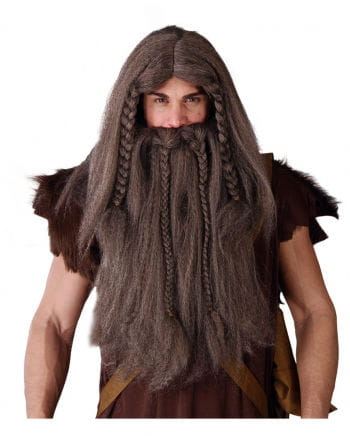Viking Wig-beard Combination