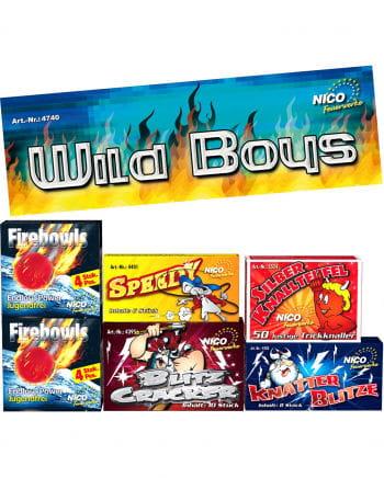 Wildboys Jugendfeuerwerk 6-fold Assorted