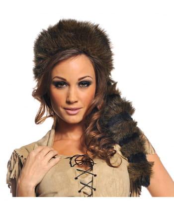 Poacher fur hat brown