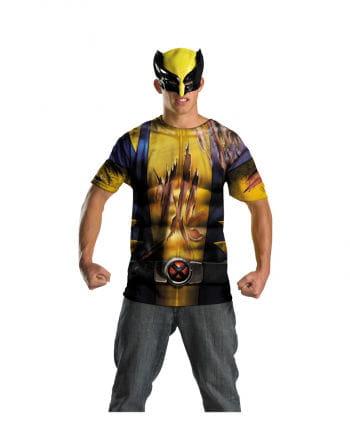 Wolverine Teenager Shirt mit Maske