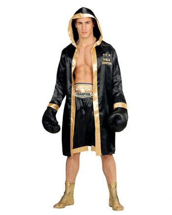 Boxer Kostüm mit Umhang