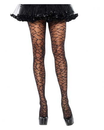 Woven Crackle Tights