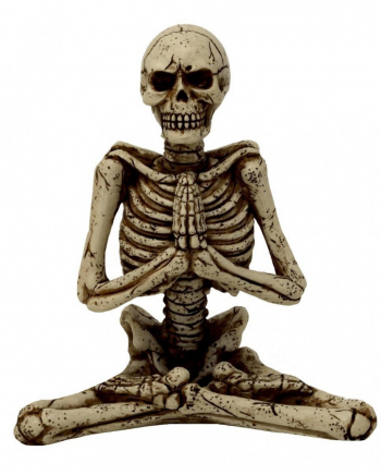 Yoga Skelettfigur 13 cm