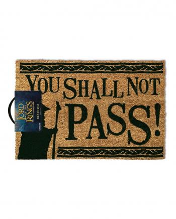 You Shall Not Pass Herr der Ringe Fußmatte
