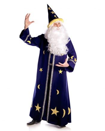 Zauberer Männerkostüm blau