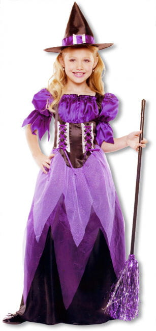Enchanting Witch Child Costume M
