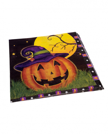 Magic Pumpkin Party Napkins 16 Pieces