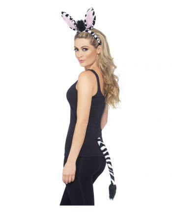 Zebra Costume Party Set