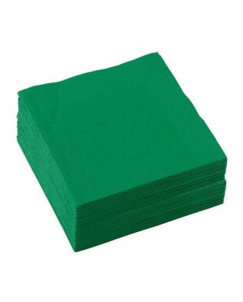 grüne Zellstoff-Servietten 50 St.