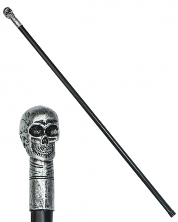 Skull Walking Stick Demountable 105 Cm