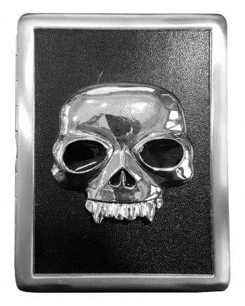 Zigarettenbox mit Vampirtotenkopf