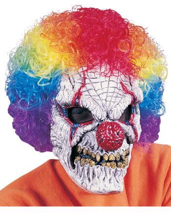 Böse Clown Horrormaske