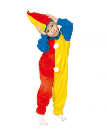 Clown Kleinkinderkostüm