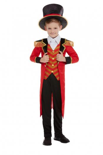 Deluxe Zirkusdirektor Kostüm für Kinder