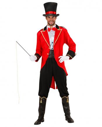 Zirkusdirektor Kostüm mit Peitsche