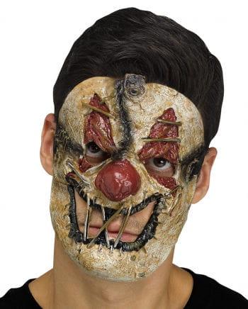 Toter Clown Halbmaske