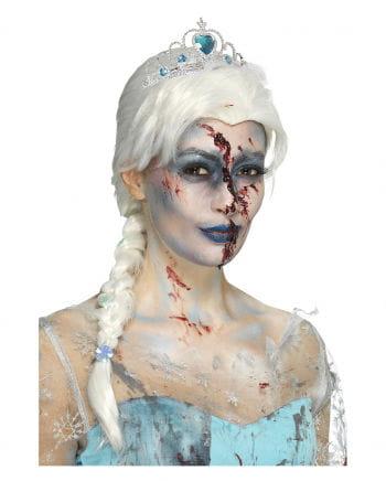 Zombie Eisprinzessin Perücke