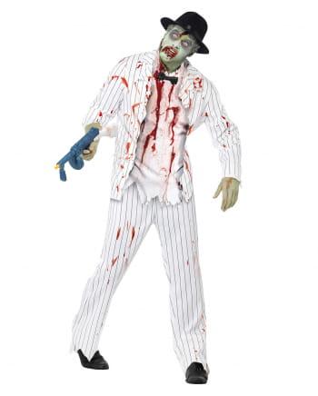 Zombie Gangster Verkleidung