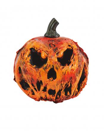 Zombie Pumpkin Halloween Deco 22 Cm