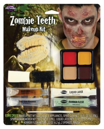 Zombie Mund Schmink-Set