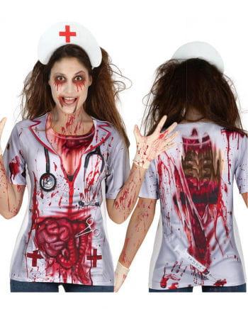 Zombie Krankenschwester T-Shirt