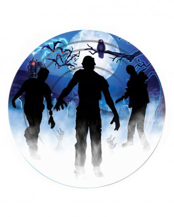 Zombie Party Paper Plate 8 Pieces