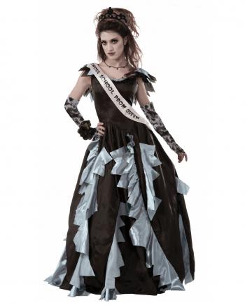 Zombie Abschlussball Königin Kostüm
