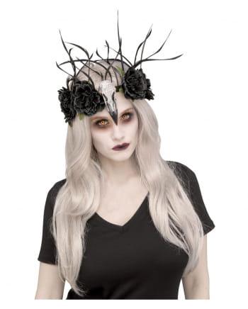 Zombie Ravens Queen Headdress
