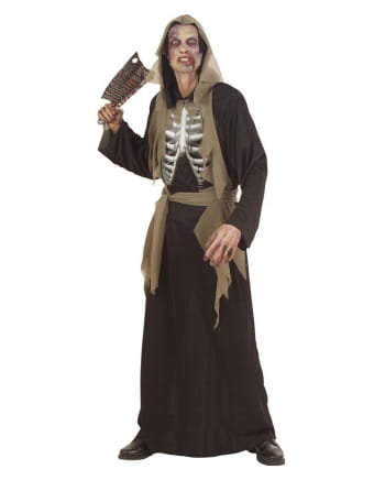 Zombie Skeleton Costume L